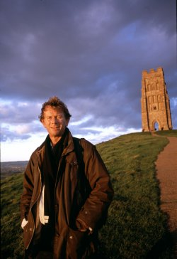 Michael Wood at Glastonbury Tor