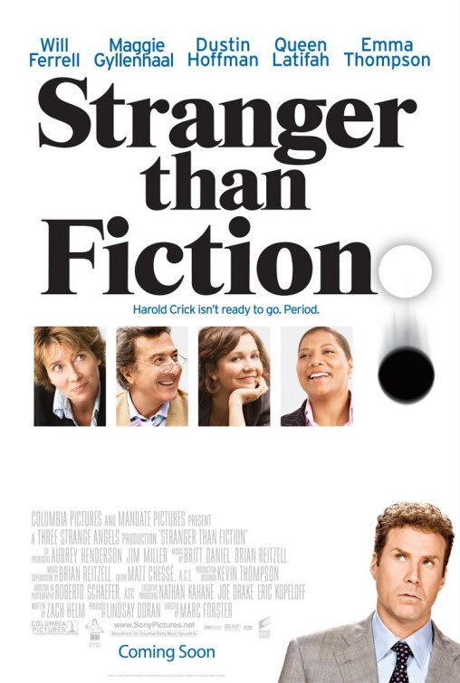 The SF Site Featured Review: Stranger than Fiction