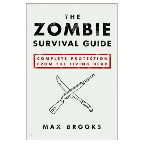 Zombie survival guide website template