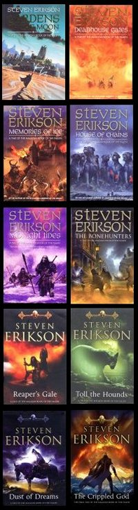 The Malazan Book of the Fallen (UK covers)