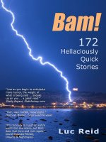 Bam! 172 Hellaciously Quick Stories