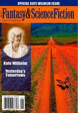 Fantasy & Science Fiction, September 2001, Kate Wilhelm Special Issue