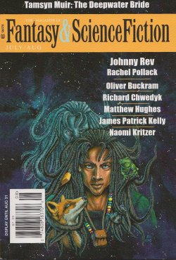 Fantasy & Science Fiction, July/August 2015, cover by Jill Bauman
