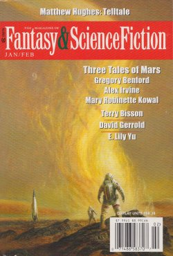 Fantasy & Science Fiction, Jan/Feb 2016, cover by Bob Eggleton