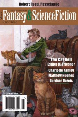 Fantasy & Science Fiction, Nov/Dec 2016, cover by Kristin Kest