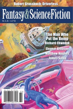 Fantasy & Science Fiction, March/April 2017, cover by Bryn Barnard