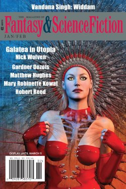 Fantasy & Science Fiction, Jan/Feb 2018, cover by Mondolithic Studios