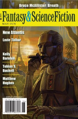 Fantasy & Science Fiction, May/June, cover by Cory and Catska Ench