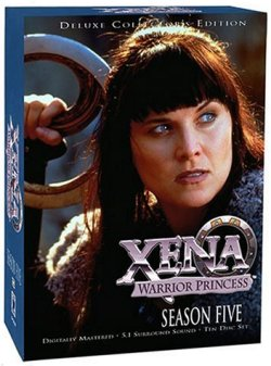 Xena: Warrior Princess DVD