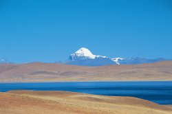 Mount Kailash, Wood's destination on his Tibet/Nepali travels