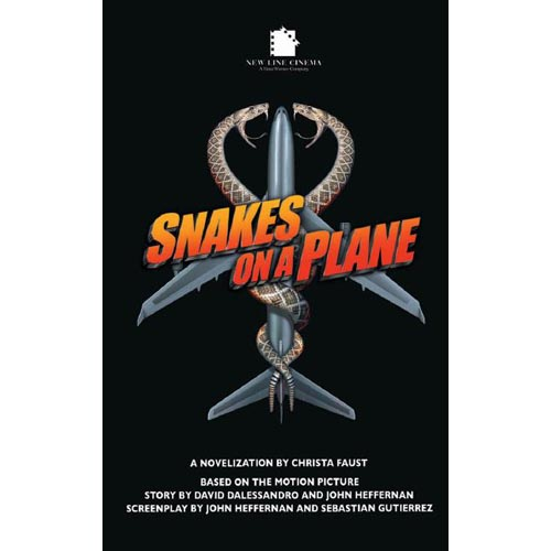 Image result for snakes on a plane novelization