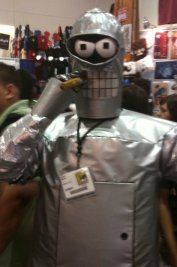 Bender at San Diego Comic-Con