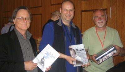 Tim Powers, John Berlyne and Peter Crowther