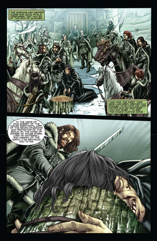 The Sf Site Featured Review A Game Of Thrones The Graphic Novel