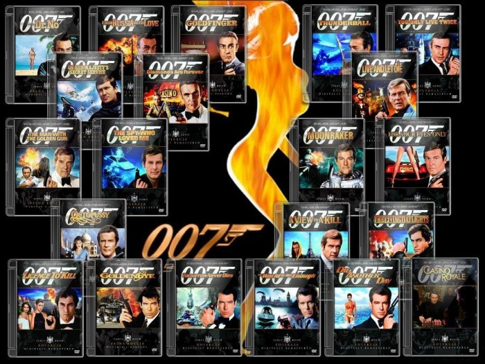 James Bond DVD Posters