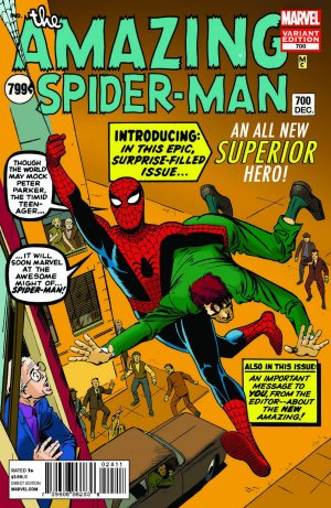 The Amazing Spiderman #700
