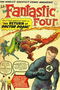 Fantastic Four #10 (January 1963)